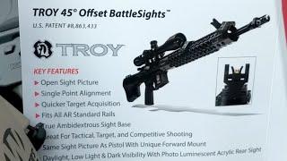 GUNPRO Troy Delta 1 45° Offset BattleSights Review