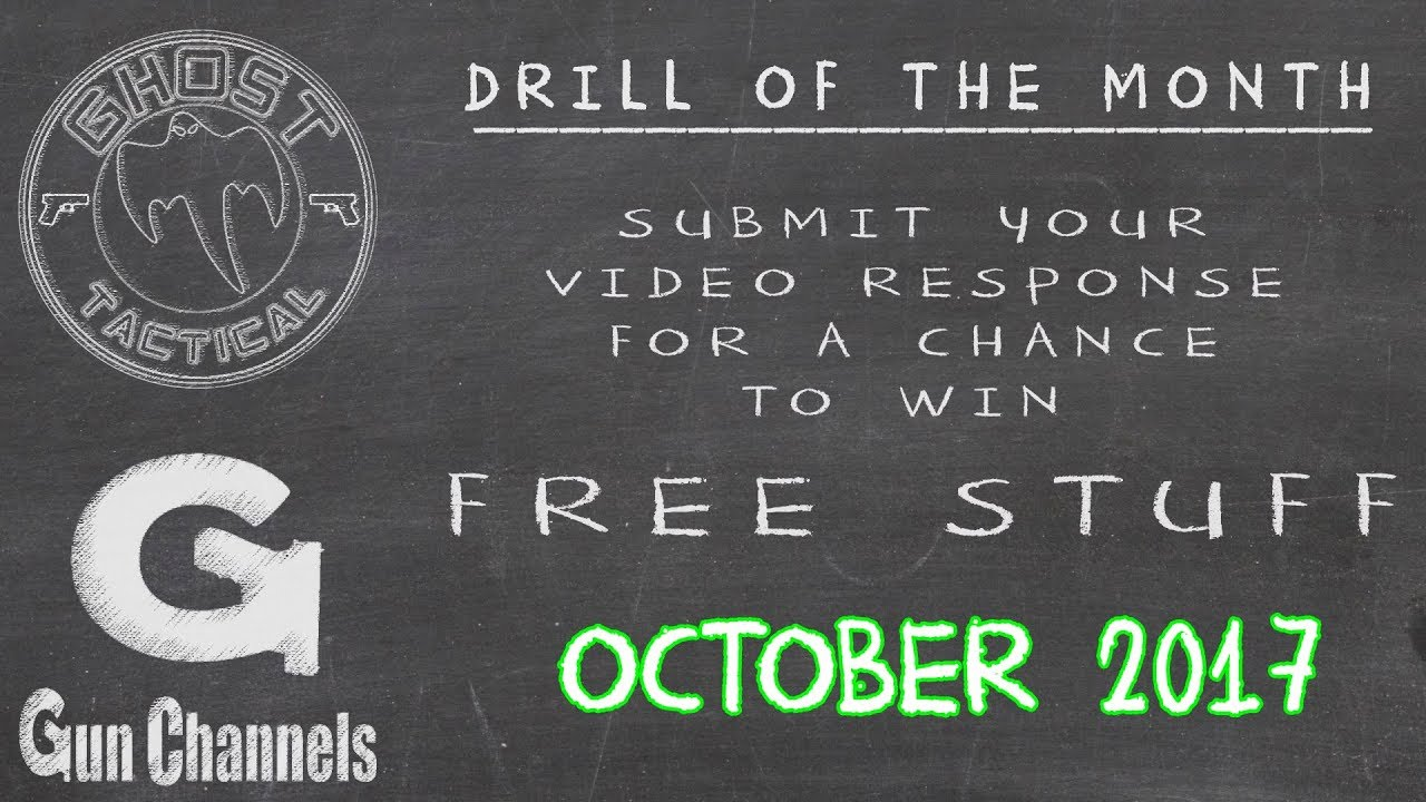 Ghost Tactical Drill of the Month:  October 2017