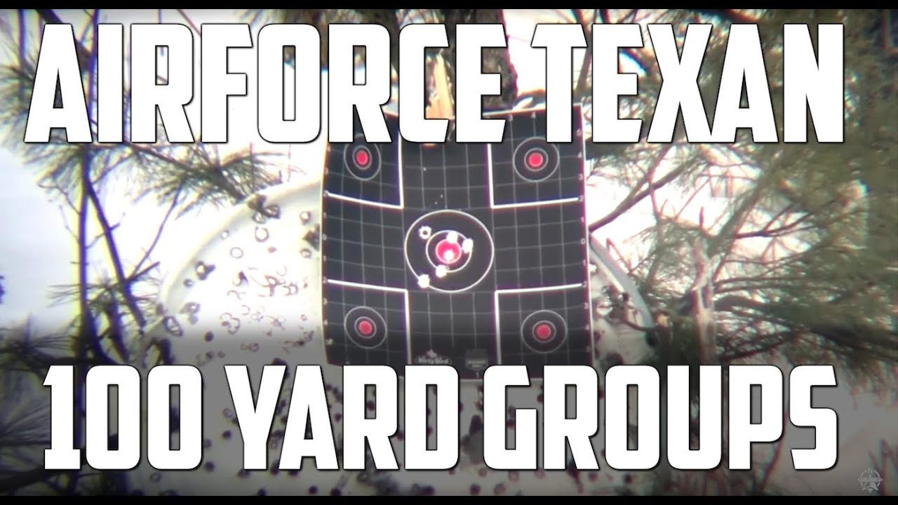 AirForce Texan Big Bore Airgun: Testing 100 Yards with .457 Boat Tail Cast Bullets