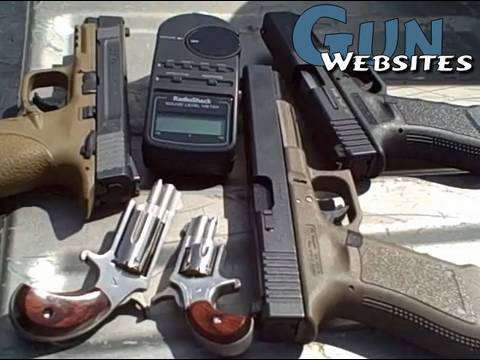 How loud are Gunshots We Test and Compare Firearms & Ammo Sound Volumes