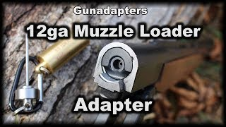 Turn your Shotgun into a muzzle loader -Slow motion too