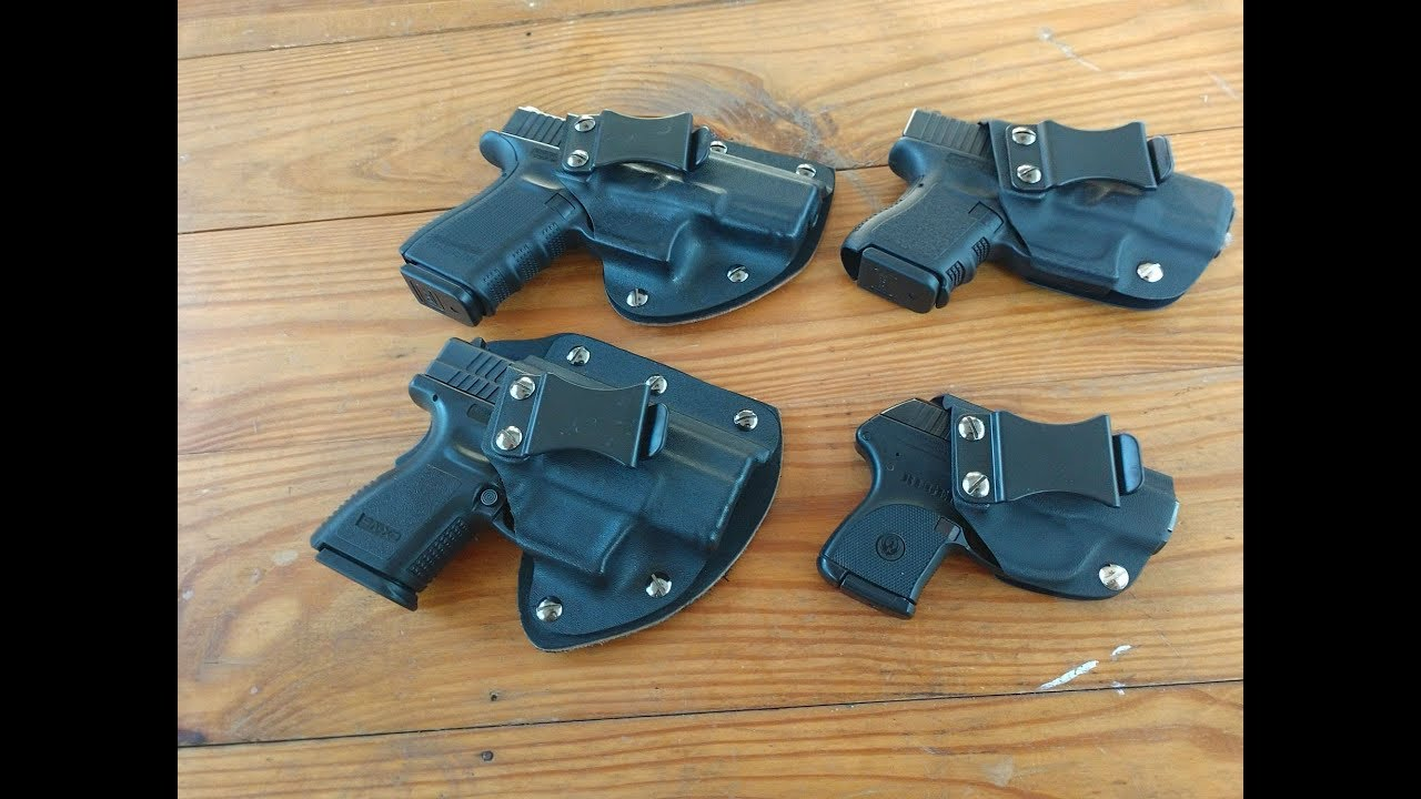 Hybrid Armory Capsule Pro and Capsule 2.0 Hybrid holsters