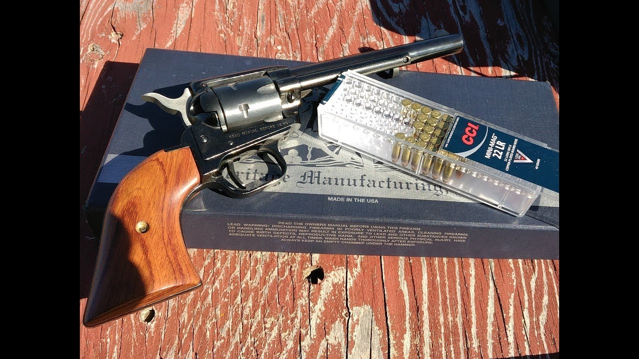 Heritage Rough Rider Revolver, range and accuracy test, part 3, CCI Mini Mag ammo!