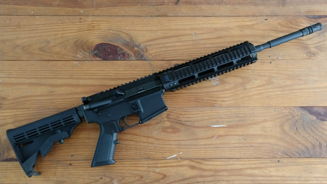 Hardened Arms replacement upper Test Fire (Murphy's Law AR15).