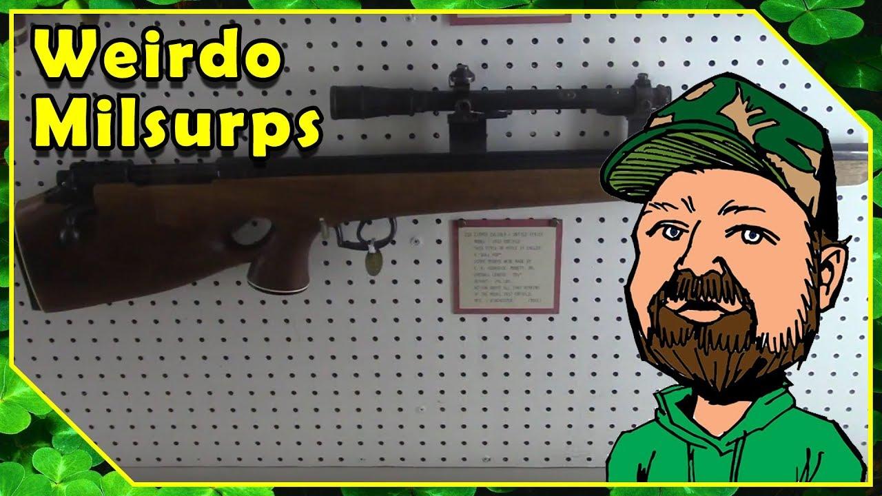 1917 Enfield Bullpup (One Ugly Rifle) & Savage No4 MK1 Enfield - JM Davis Arms & Historical