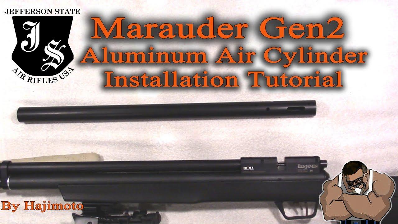 Benjamin Marauder: JSAR Aluminum Cylinder Install