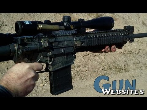 Shooting the Colt CM901 Modular .308, 5.56x45, 7.62x39, 6.8 AR15