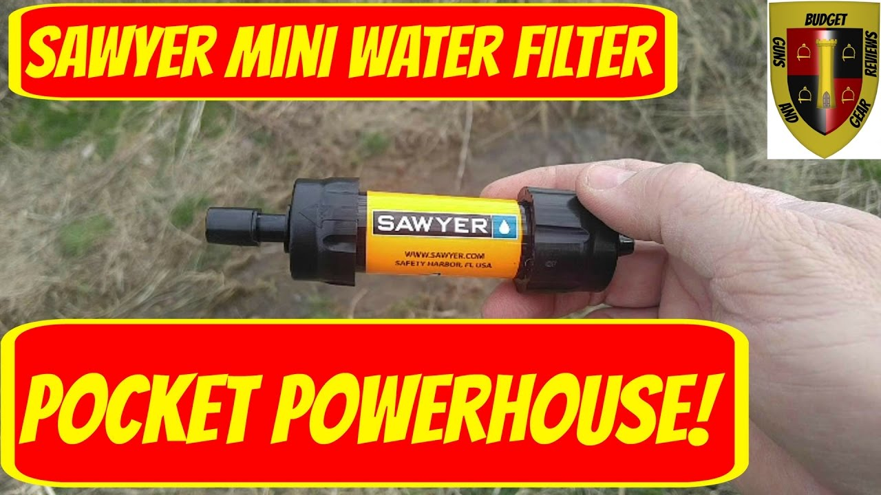 When you need clean water- Carry a Sawyer Mini Filter! Sawyer Mini Water Filter Review