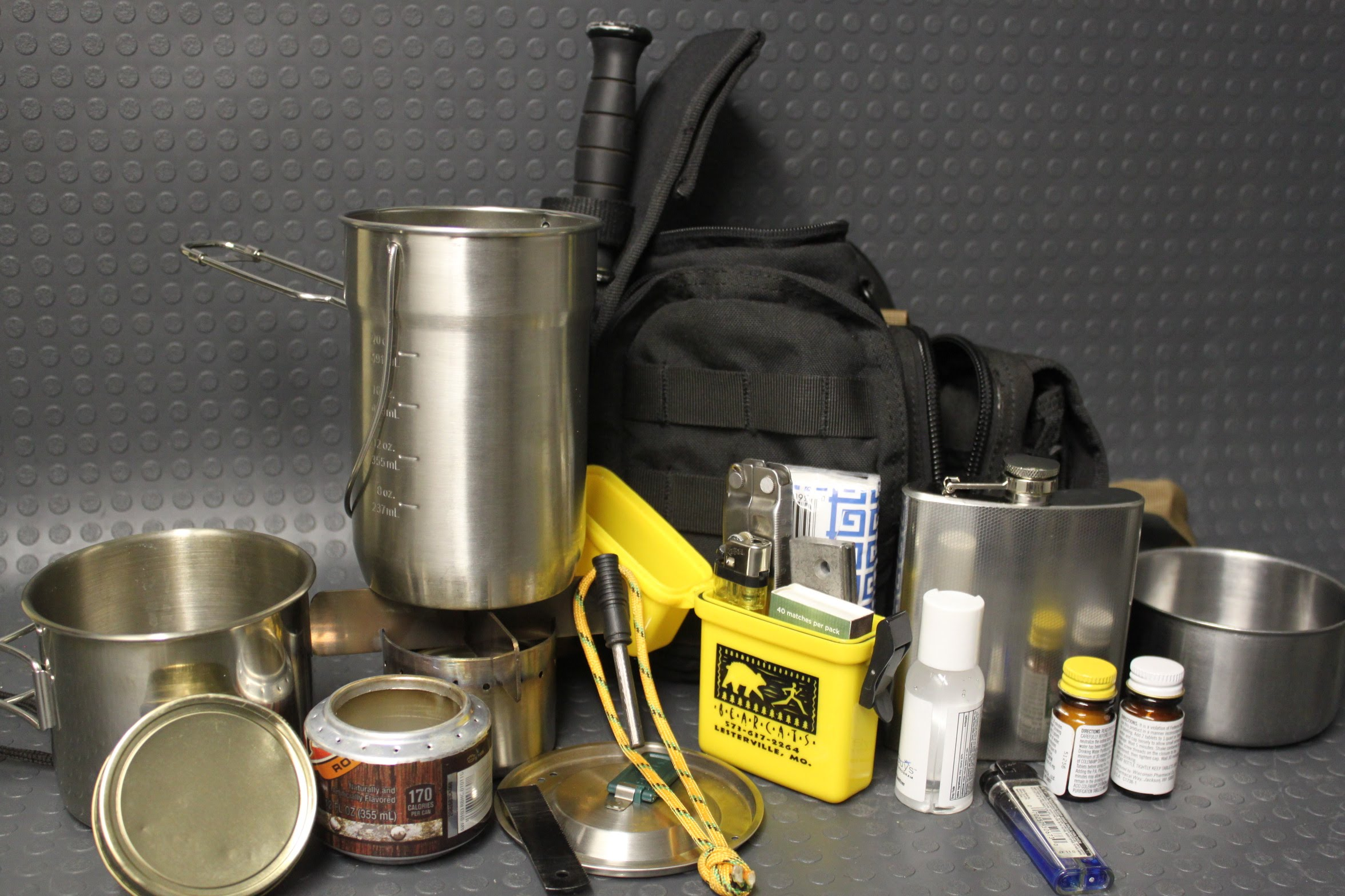 Budget survival quality cook camp kit ZRUS