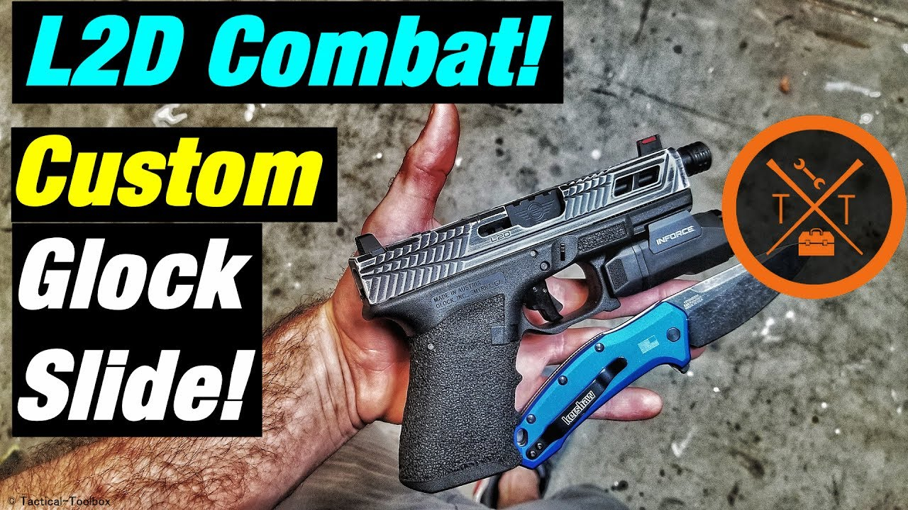 L2D Combat! Affordable Custom Glock Slides Review!