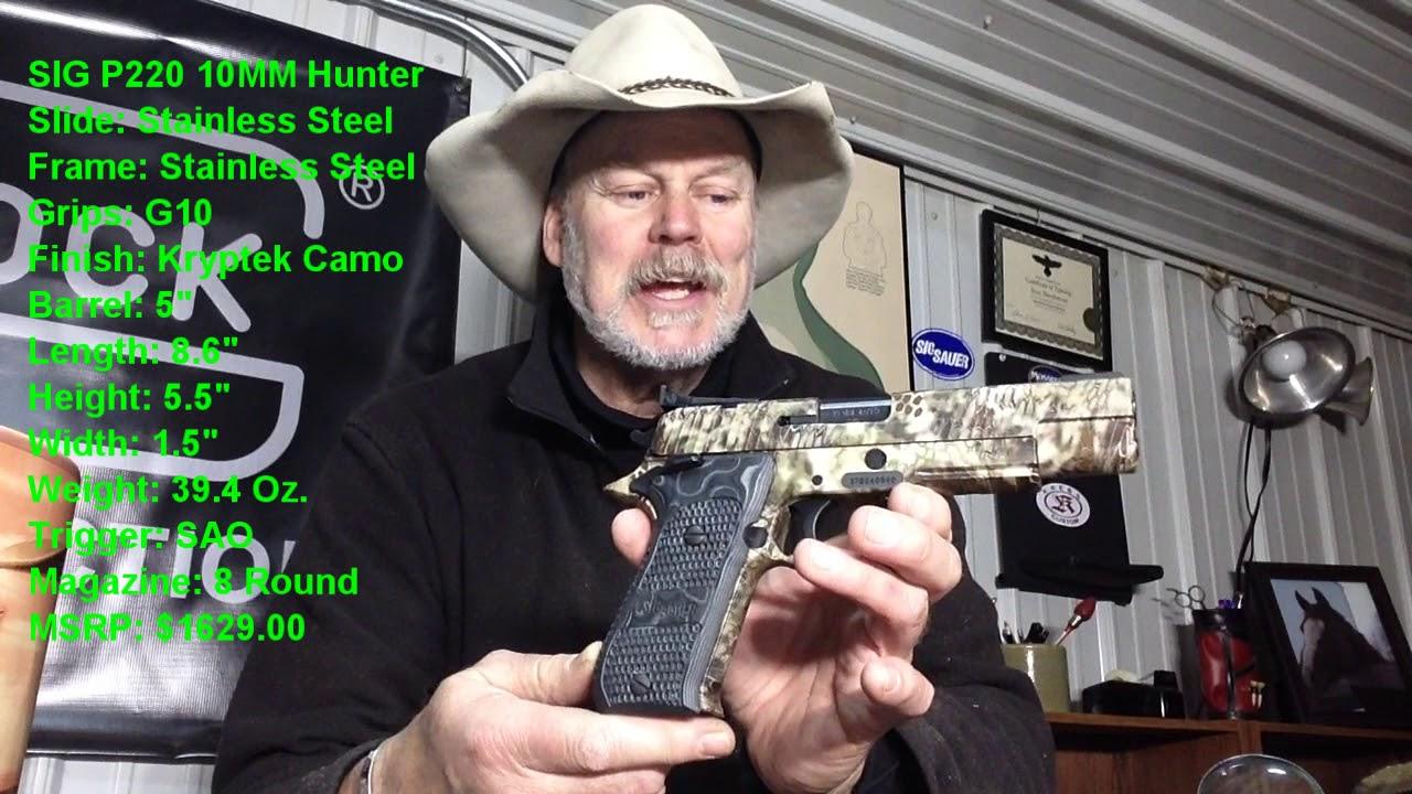 Sig Sauer P220 Hunter 10MM