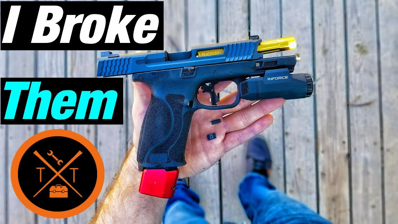 How To Install Sights Smith & Wesson M&P 2.0 // (COUPONS)
