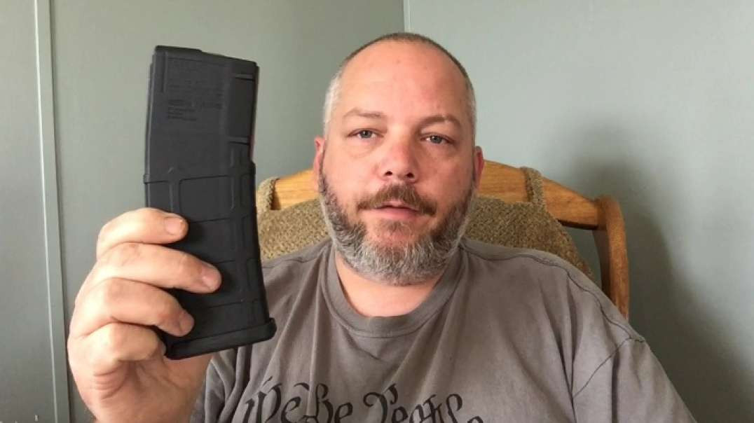 Disassemble and reassemble a magpul ar15 magazine