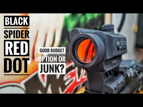 BLACK SPIDER RED DOT UPDATE! FAILURE OR GOOD BUDGET RED DOT?