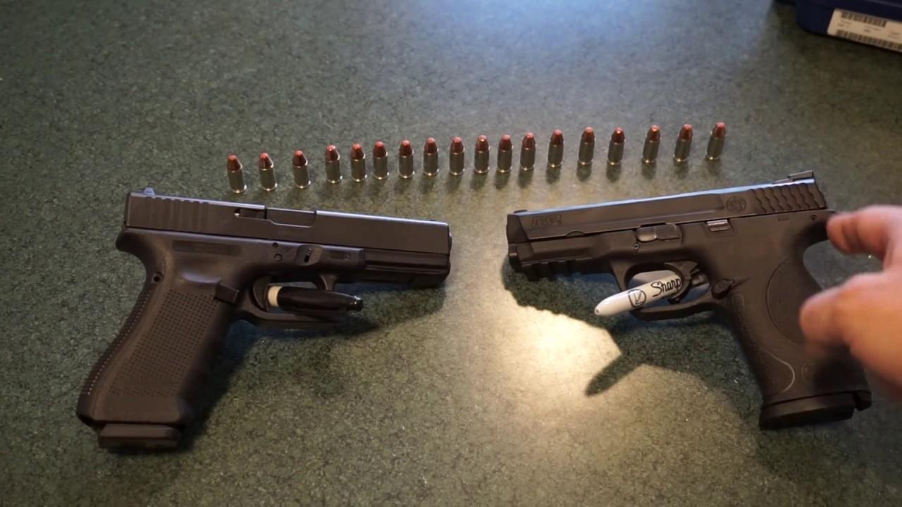 Glock 17 Gen 4 vs. S&W M&P 9mm...which should you choose?