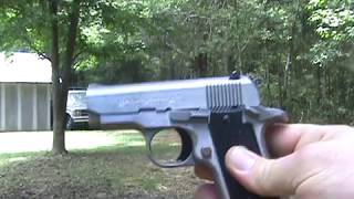 Colt Mustang test fire (after ejector fix.)