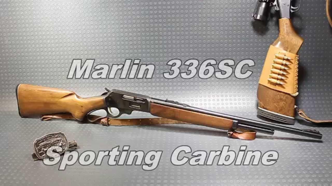 Marlin 336SC Sporting Carbine 30-30 Winchester