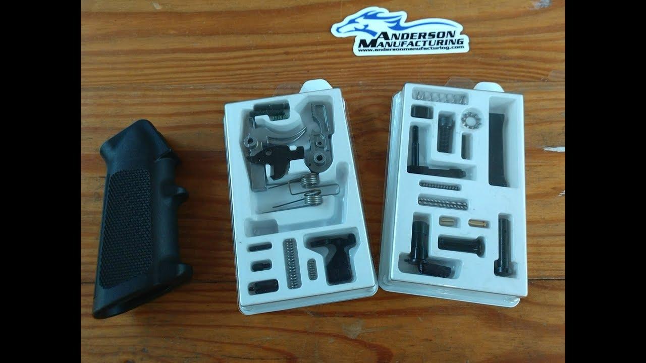 Anderson Manufacturing Gen 2  Lightweight Lower Parts Kit