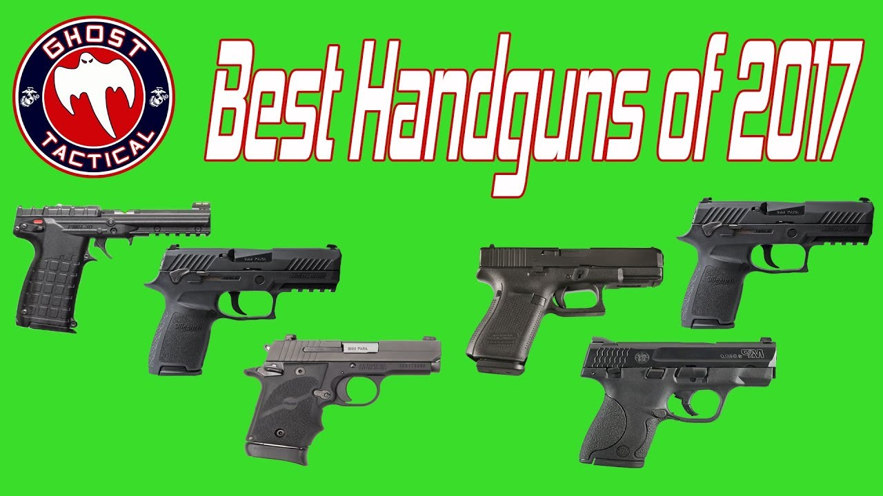 Best Handguns of 2017:  Year-In-Review