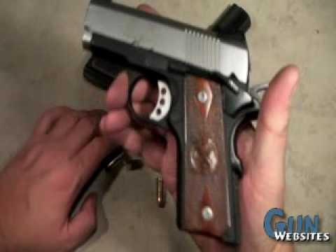 Springfield EMP; 9mm 1911 Pistol