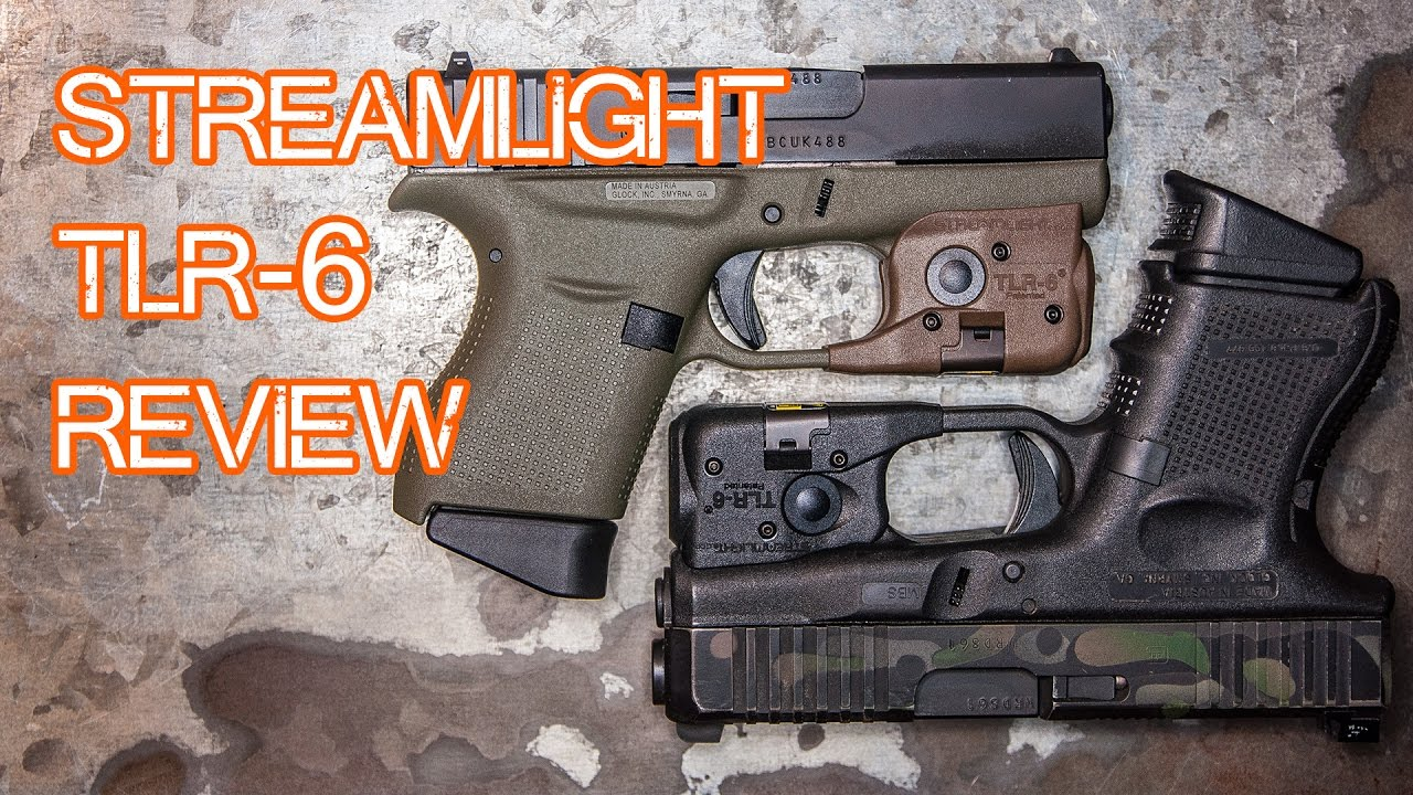 Streamlight TLR-6 Review - Sub Compact Weapon Light (Glock 43, Glock 26, etc)