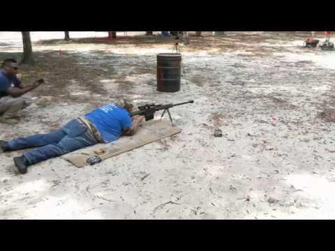 James L. on the Barrett .50 BMG at the Strange Hacienda