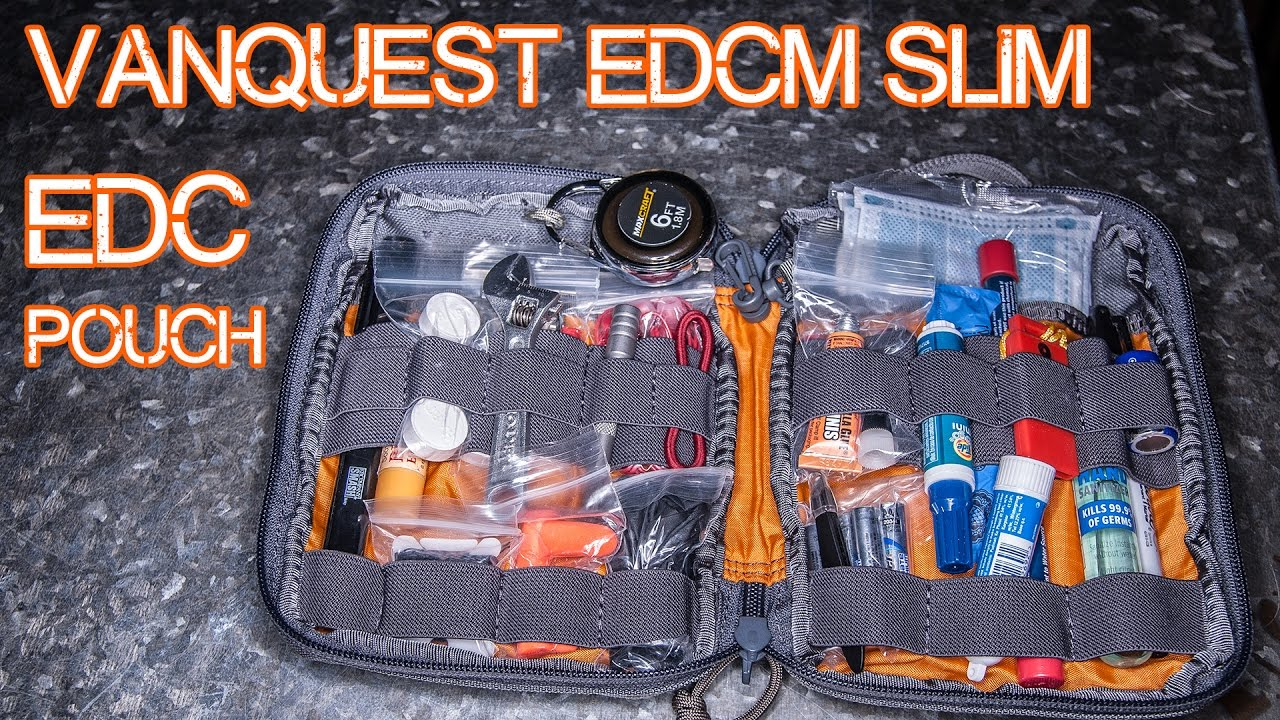 EDC Pouch - part of an Everyday Carry Backpack system - Vanquest EDCM Slim loadout