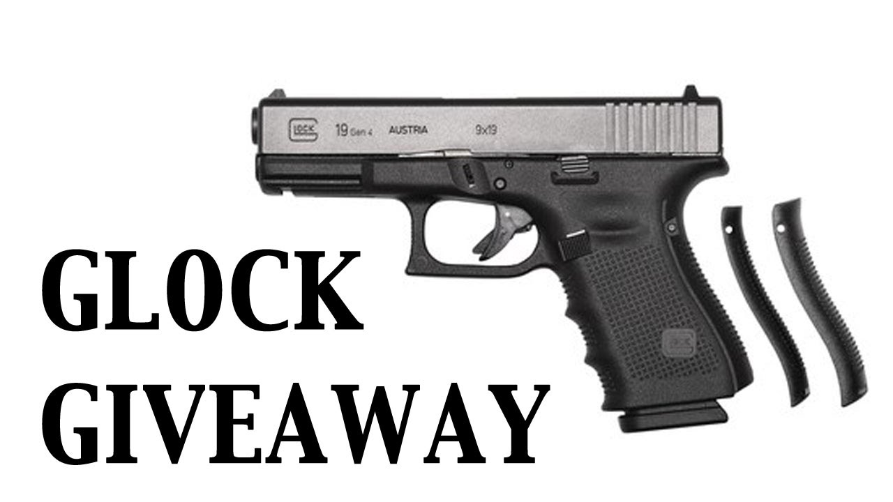 Glock Giveaway G19 Gen 4 Pistol Dealine December 13