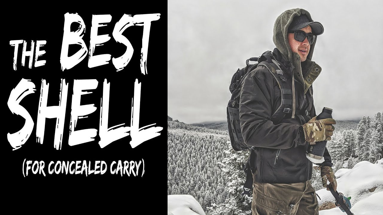 My Favorite Shell (great for concealed carry) - Vertx Integrity Shell Review