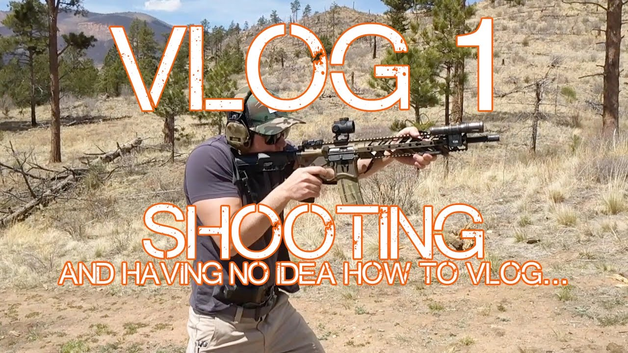 VLOG 1 - Shooting and not knowing how to vlog...