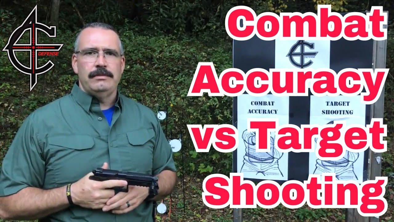 Combat Accuracy vs Target Shooting   CZ P09 9mm