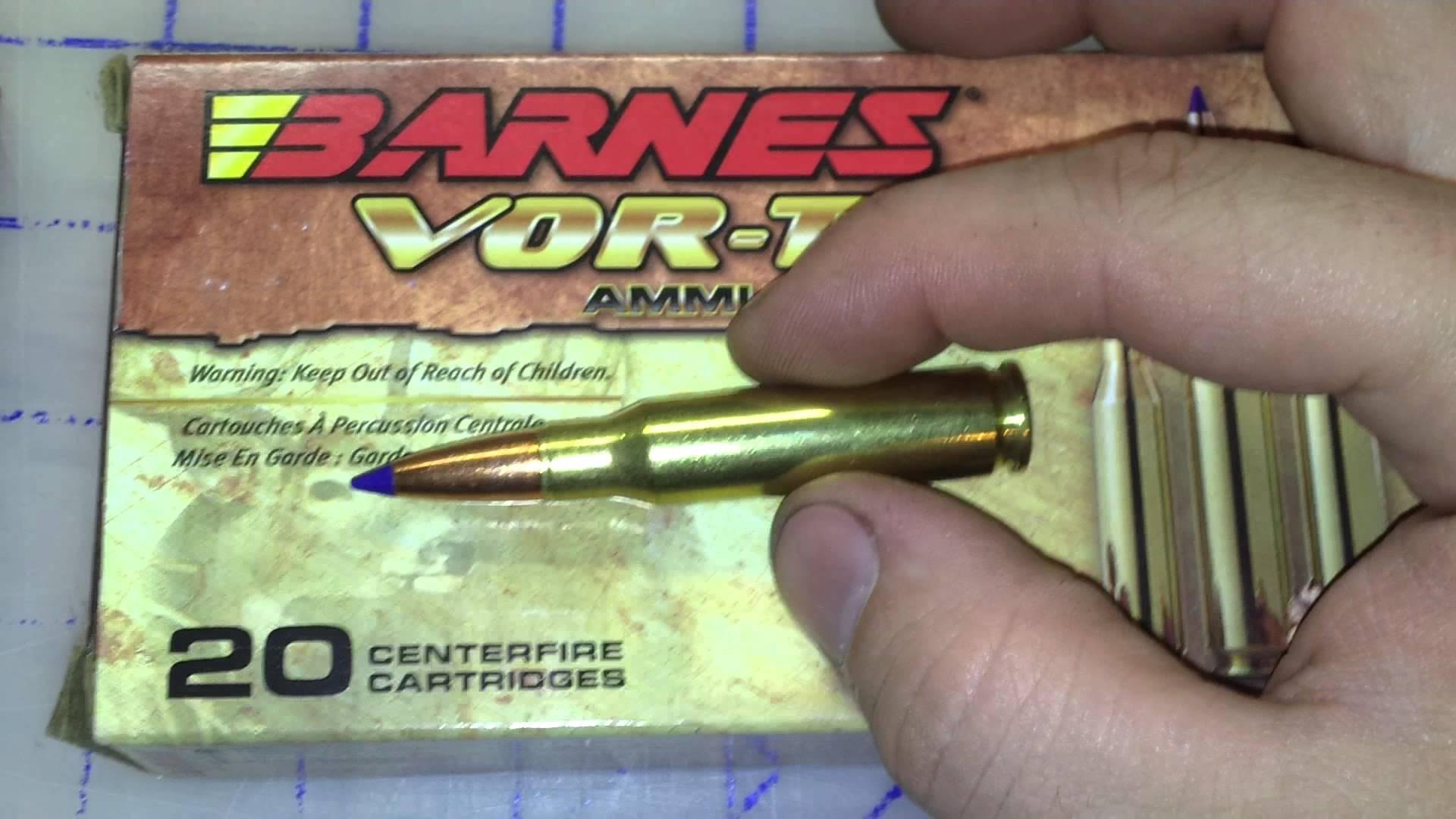 .308 Winchester Power Point/Power Max/Barnes TTSX Part 1 Review