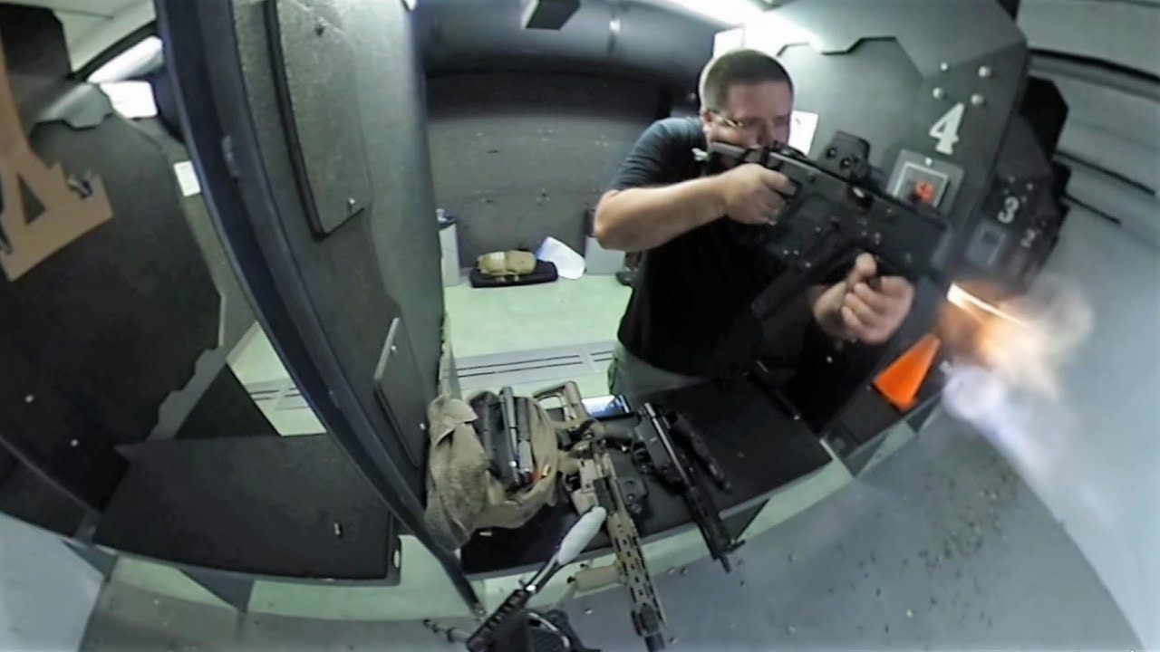 360° Video - Kriss Vector .45 SBR Mozambique Drills
