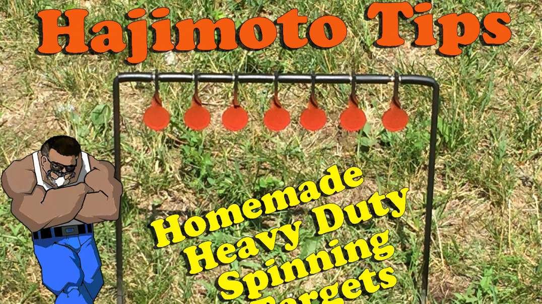 Hajimoto Tips: Homemade Spinner Targets