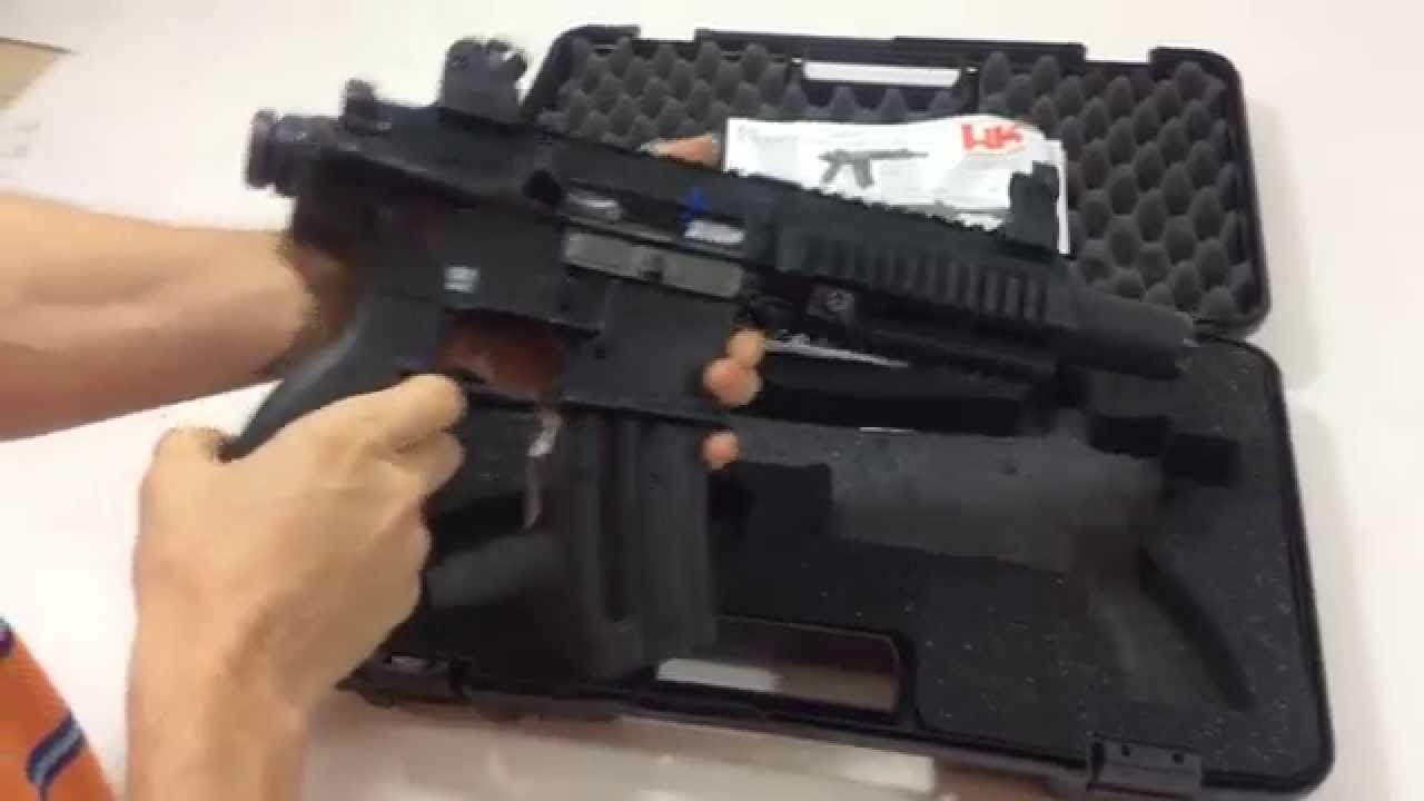 Hk 416 .22 LR Pistol Review (Heckler & Koch)