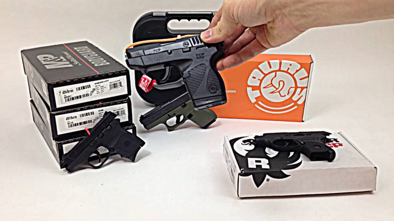 Pocket Pistols Comparison | Ruger LCP, Taurus 738, Glock 42 & S&W Bodyguard 380