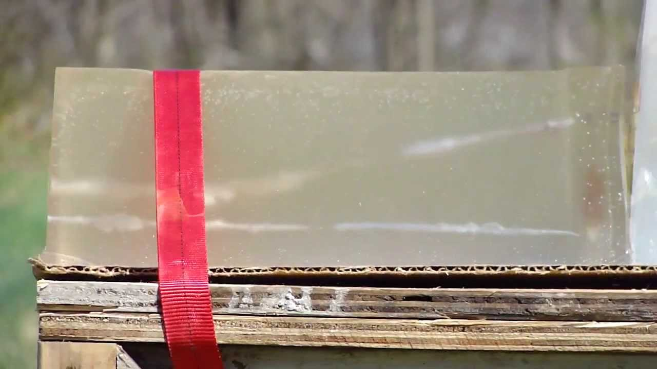 .22LR Ballistic Gel Test Federal-Remington-Winchester-Blazer