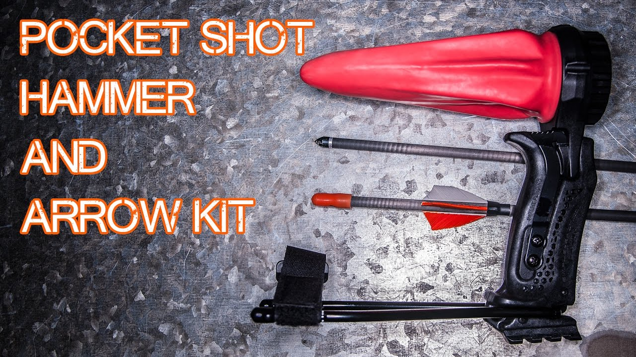 The Pocket Shot Hammer and Arrow Kit