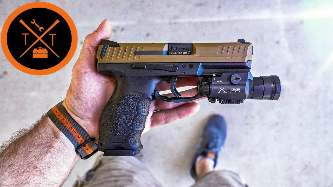 Best Tactical Light For Home Defense?? // SureFire XH35 Review