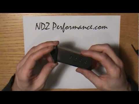 NDZ Performance Custom Lasered Magazine, Floor, Base plate install for Springfield Armory XDS .45ACP