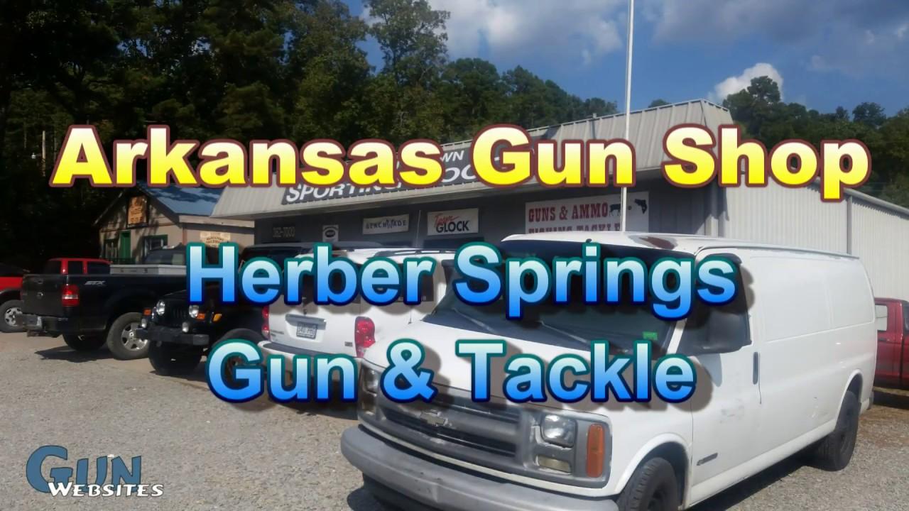 Herber Springs Gun & Tackle - Arkansas Gun Shop