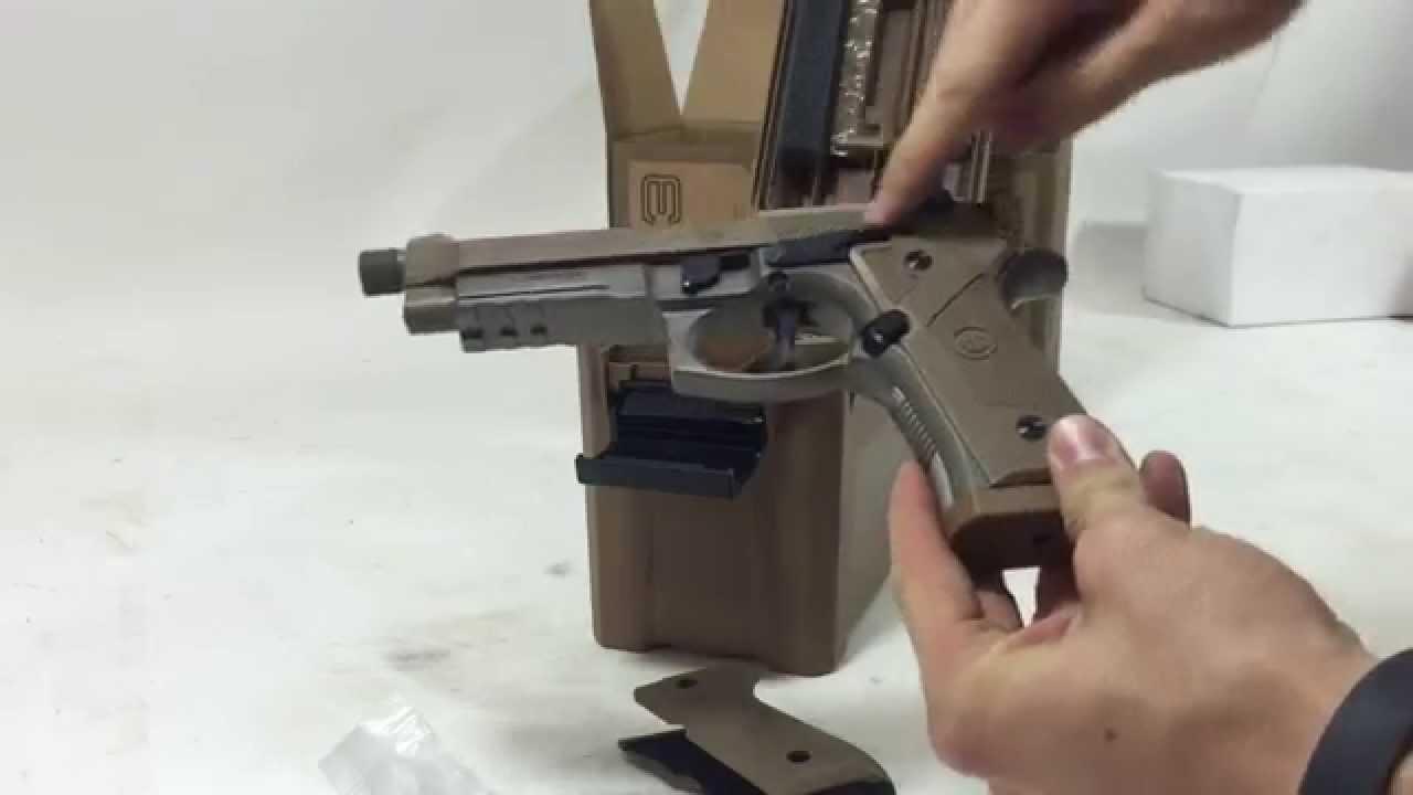 Beretta M9A3 Semi-Auto Pistol 9mm