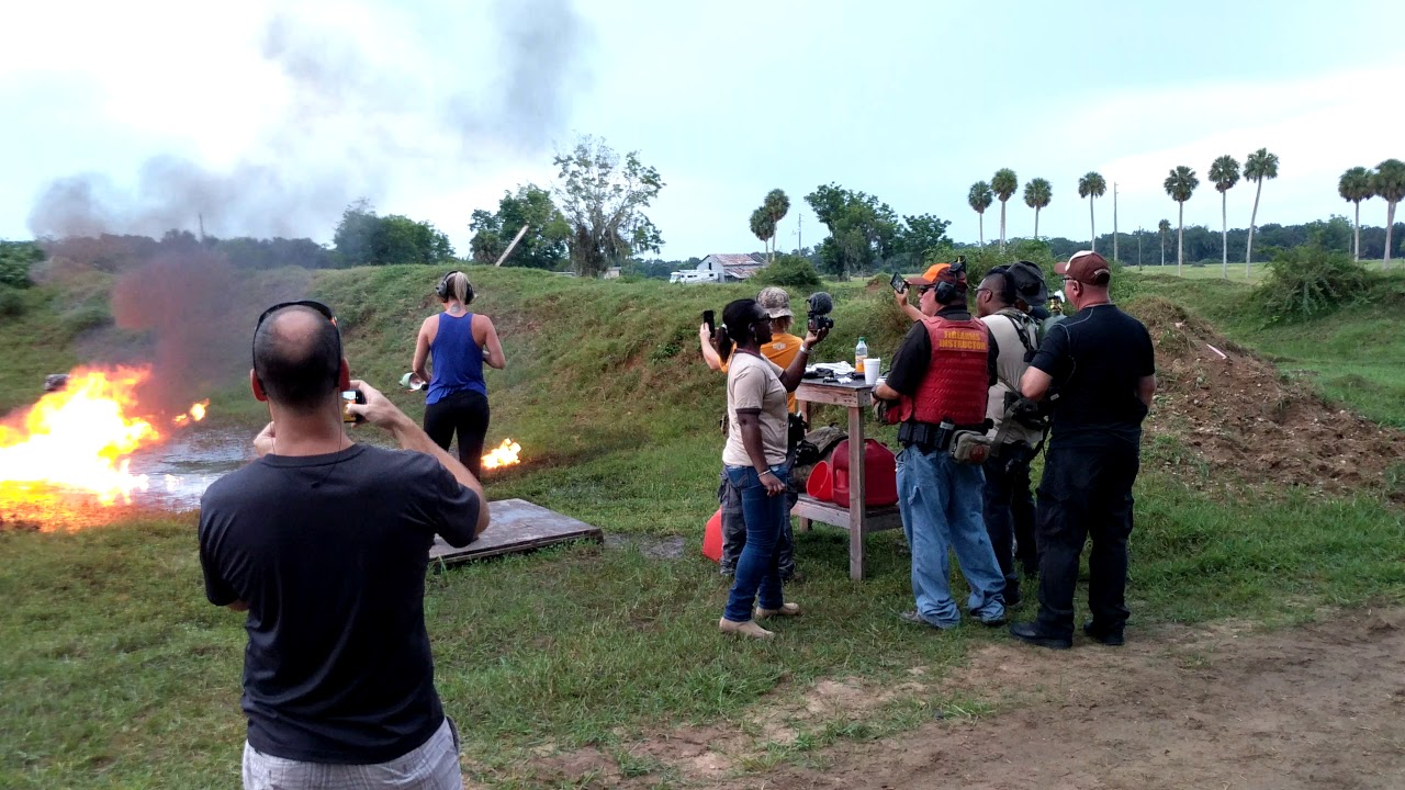 Behind the Scenes at Ares Firearms Training with Hank & Lola Strange