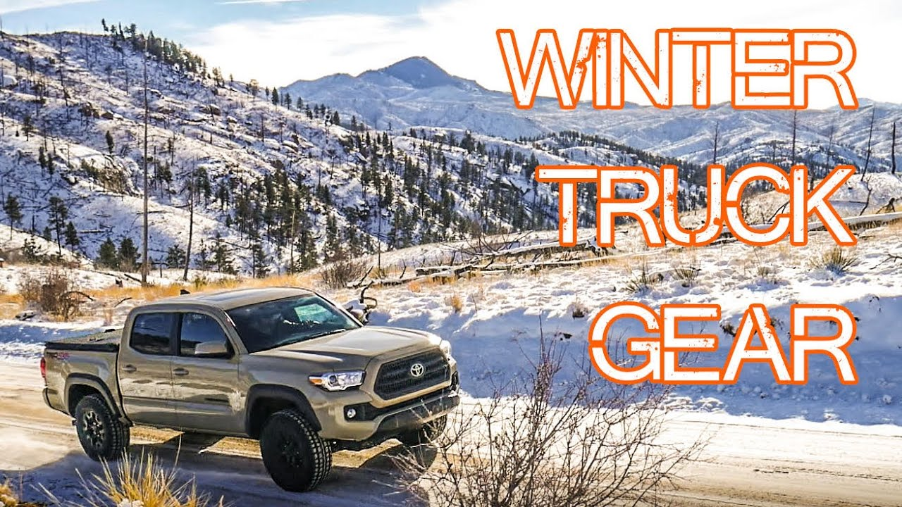 Winter Truck Gear - Emergency Car Gear (snow / cold specific) - Tacoma Survival Gear