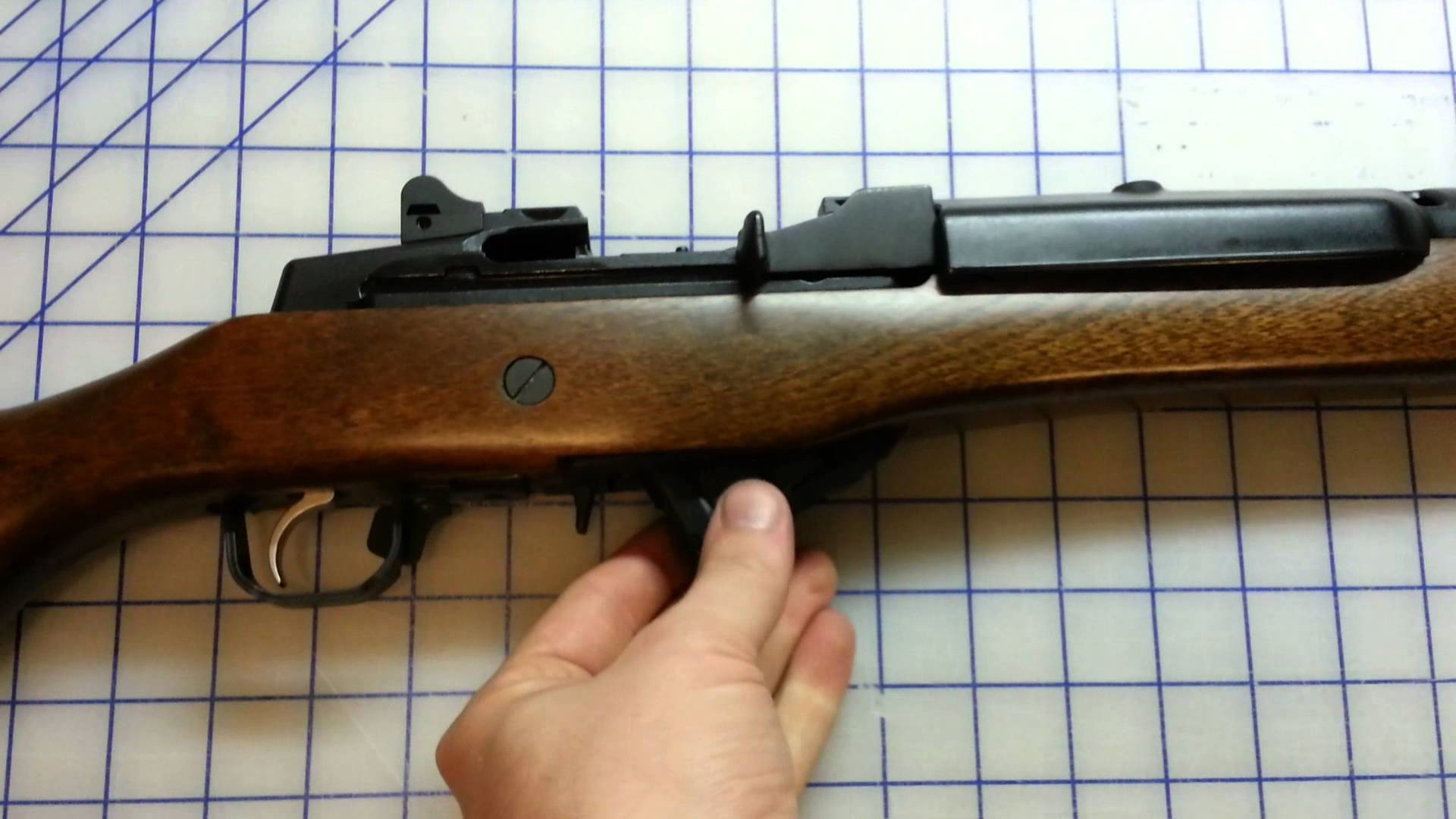Ruger Mini 14 Ranch Rifle Review .223 semi-auto 5.56