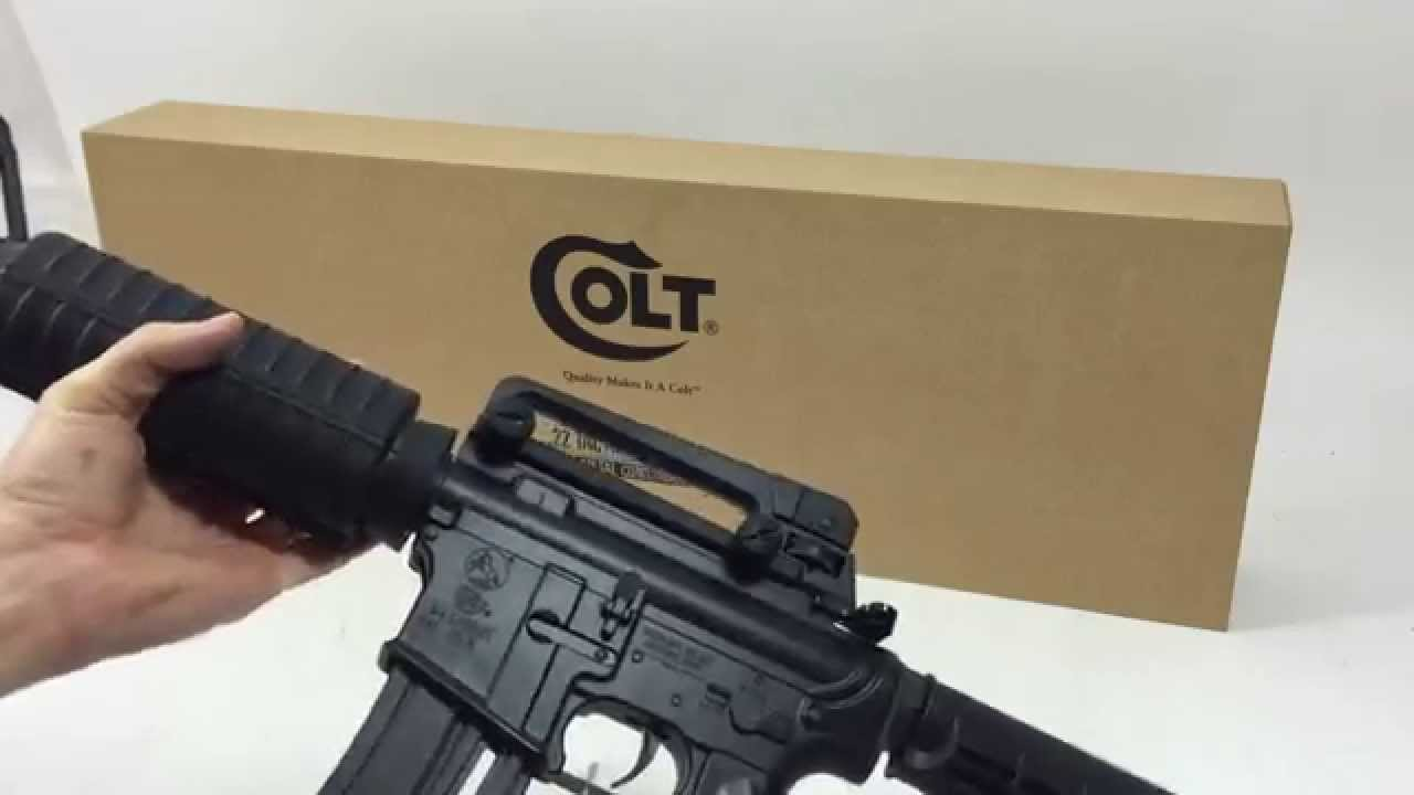Colt M4 Carbine 22 LR Rifle Great Christmas Gift Firearm