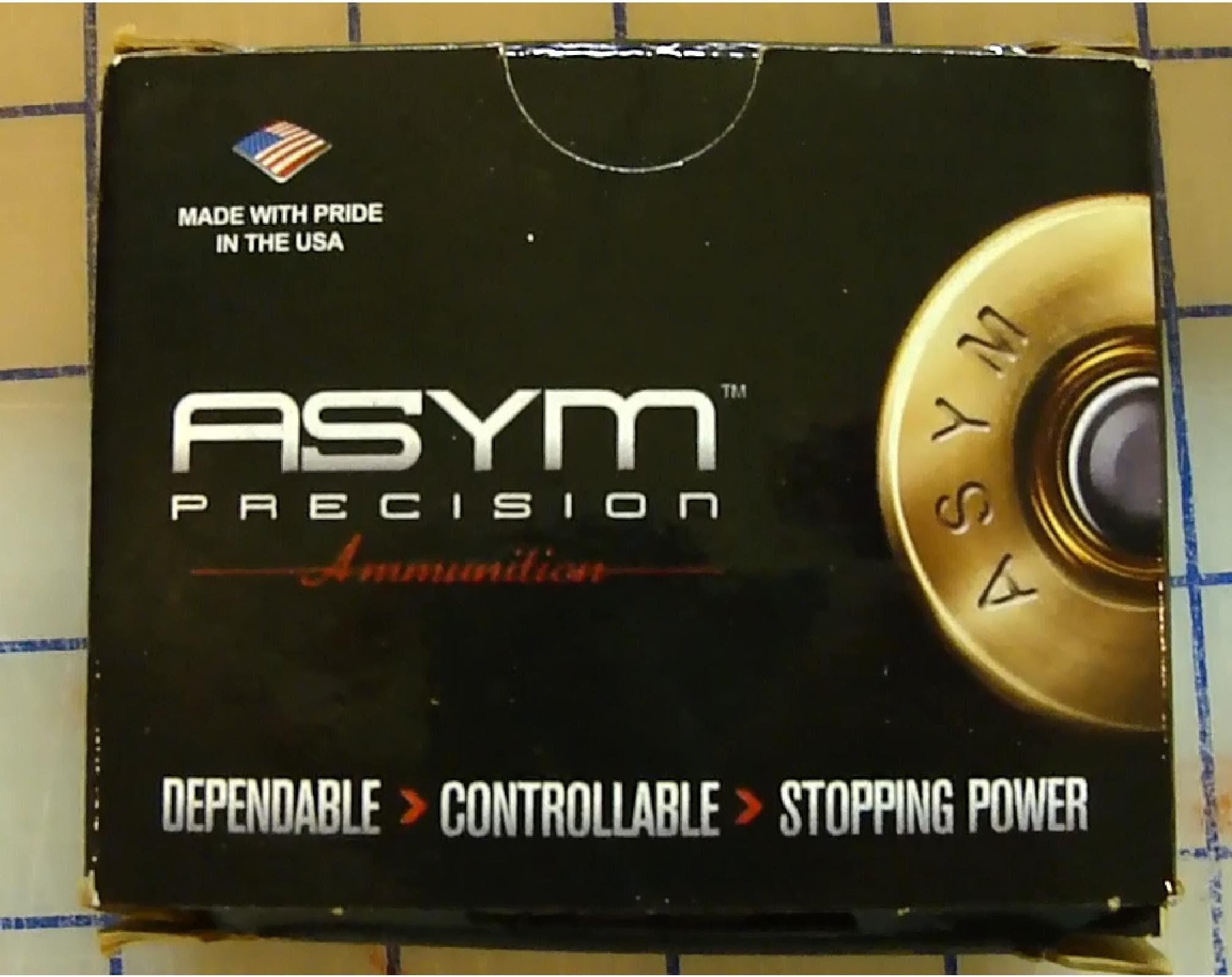 9mm ASYM Ammo 124gr +P Ballistic Gel Test