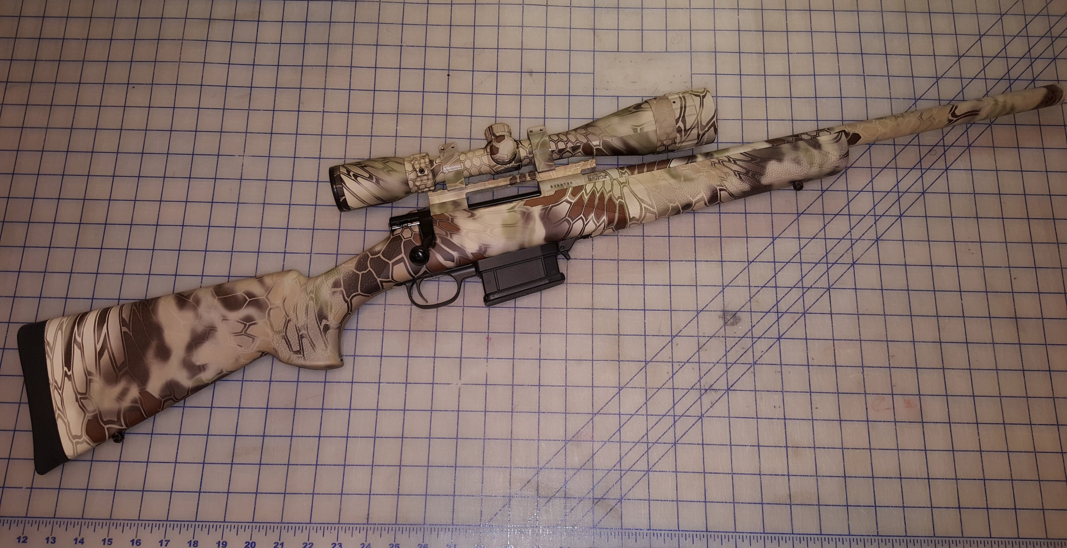 .223 Rem Howa M1500 Kryptek Package with Ammo Boost Review