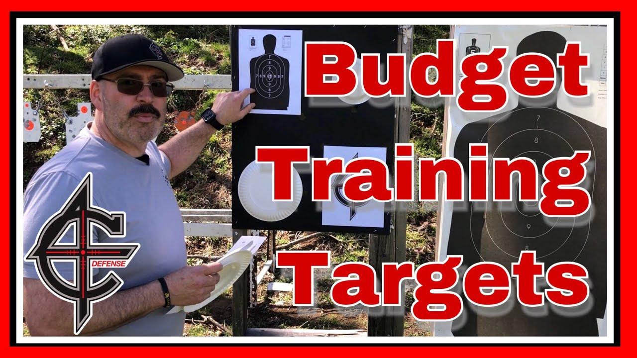 Pistol Training Targets | CZ P10C + Scorpion EVO