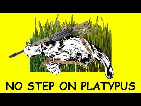 NO STEP ON PLATYPUS!